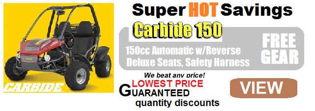 BMS Sand Sniper 150 Buggy CA Approved $2,099