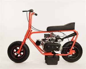 American Flyer 215 Minibike with optional Mikuni Carb and Stinger Exhaust